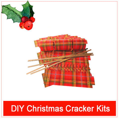 DIY Christmas Cracker Kit for virtual Corporate Christmas Parties