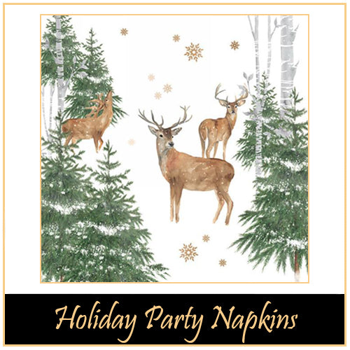 Corporate Party Napkins -