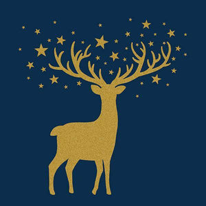 "Corporate Party Napkins - ""Golden Deer"""