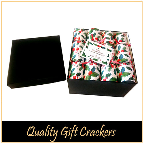 Quality, Boxed Christmas Crackers for Corporate Gifting