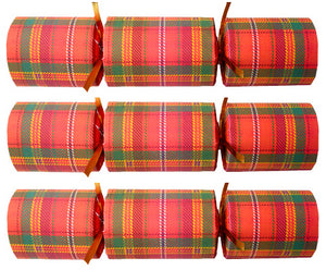 Corporate Christmas Crackers - Holiday Tartan