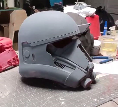 How to Make Your Own Star Wars Death Trooper Helmet