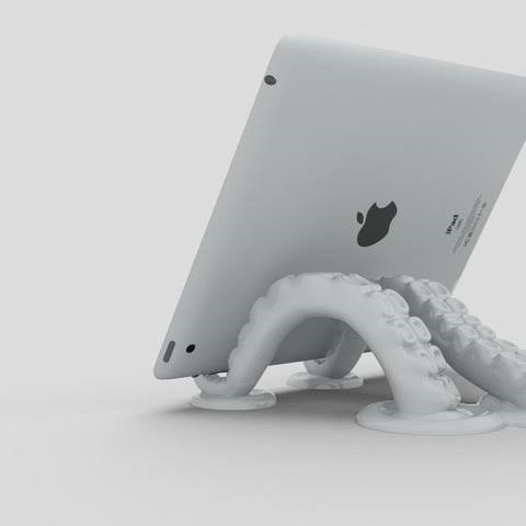 3D Octopus Tablet Stand