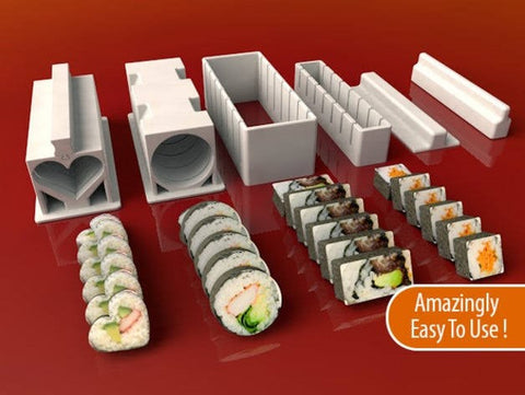 20 3D Prints Ideas for Your Kitchen 3D print sushi maker