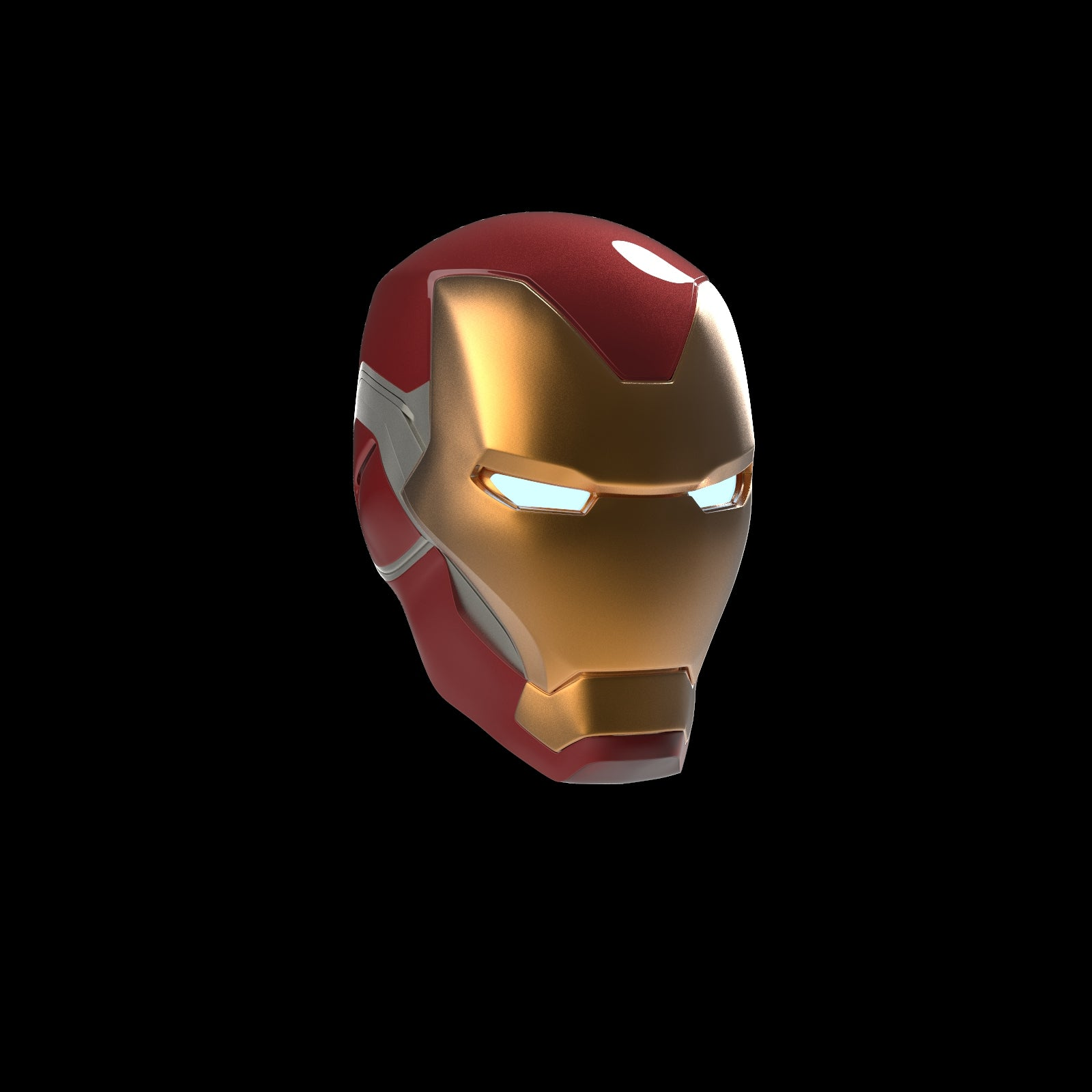 Iron Man figure stl