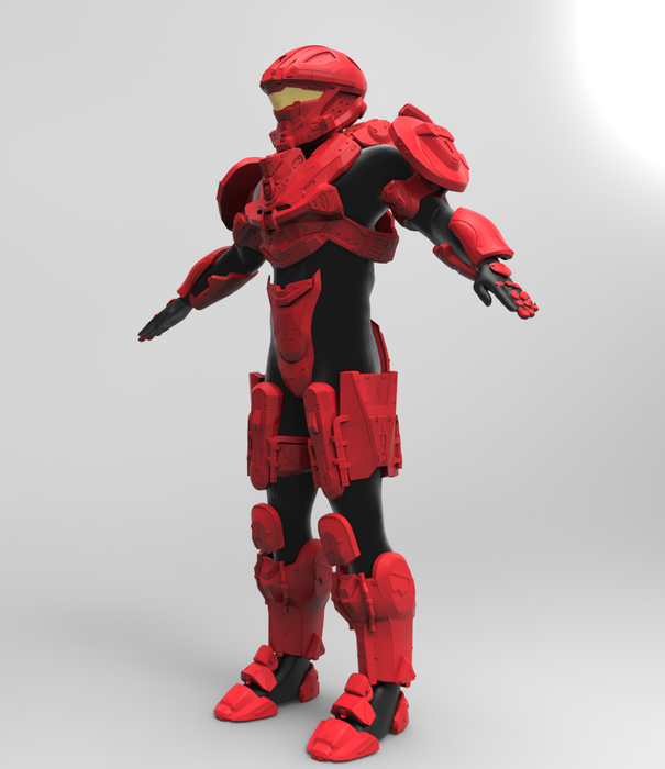 Halo 4 Recon Armor with MA37 Rifle