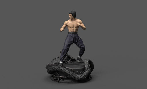 Bruce Lee Statue - Nikko Industries