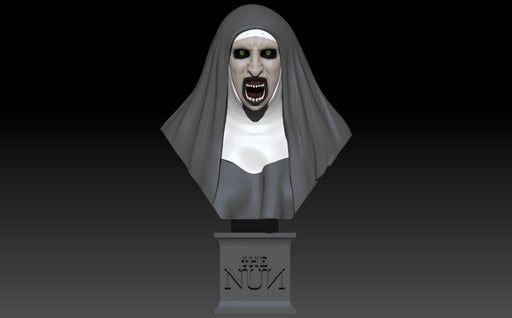 The Nun Bust - Nikko Industries