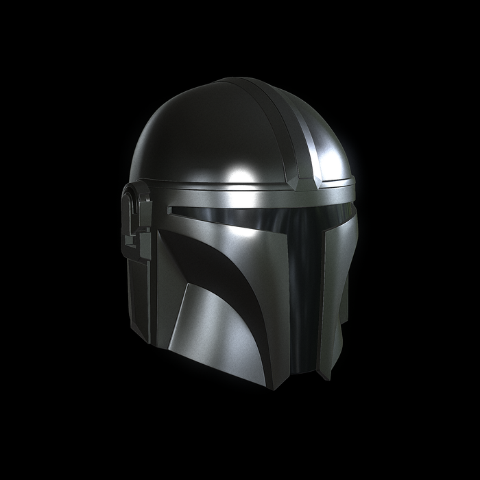 The Mandalorian Helmet stl