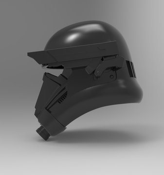 Death Trooper Helmet stl