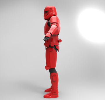 Jet Trooper Armor STL