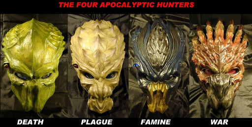 4 Horsemen of the Apocalypse Predator Set