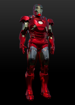 Iron Man MK7 Full Suit stl