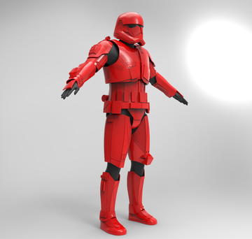 Sith Trooper cosplay stl