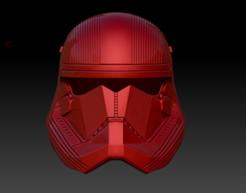 Red Sith Trooper Helmet