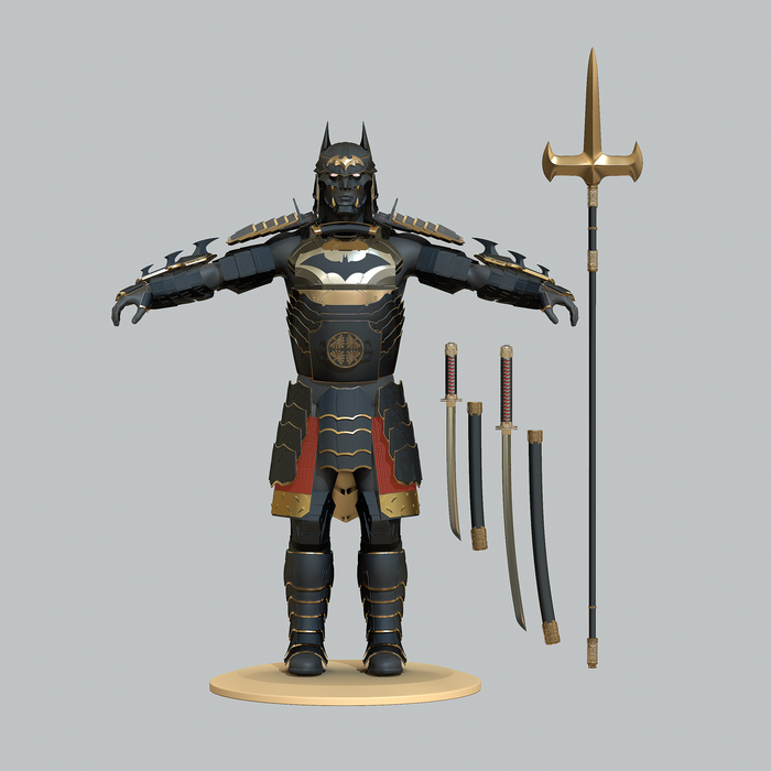 Shogun Batman Armor for Cosplay