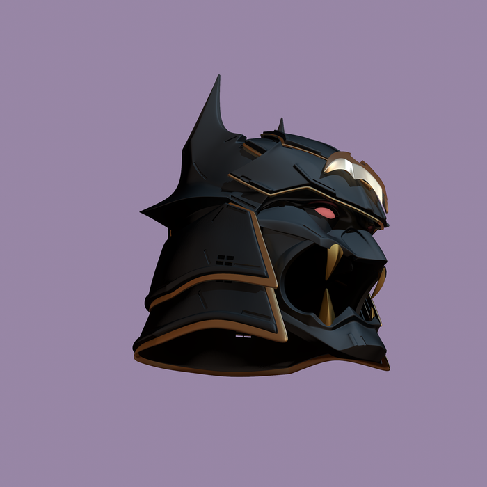 Shogun Batman Helmet stl