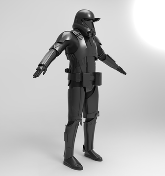 Death Trooper Armor stl
