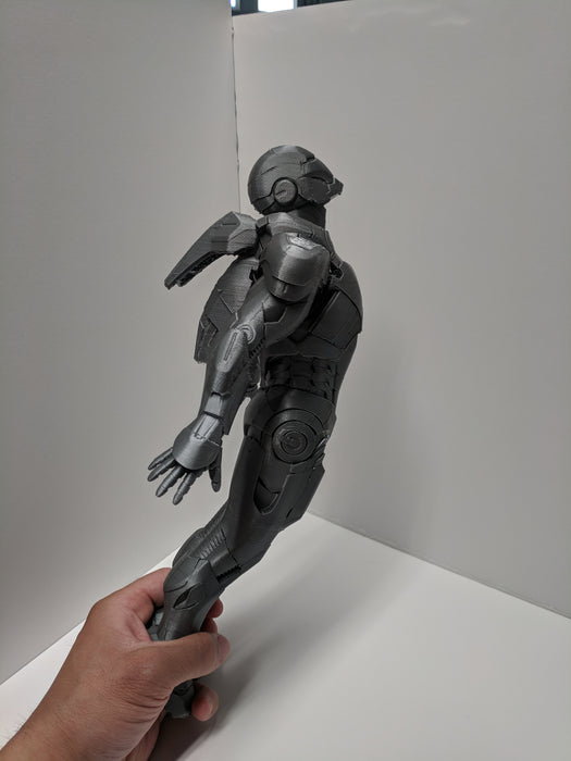 Iron Man MK7 Flying Figure stl