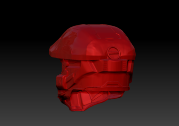 Halo Master Chief Helmet and Visor