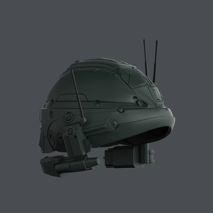Weapon X helmet stl