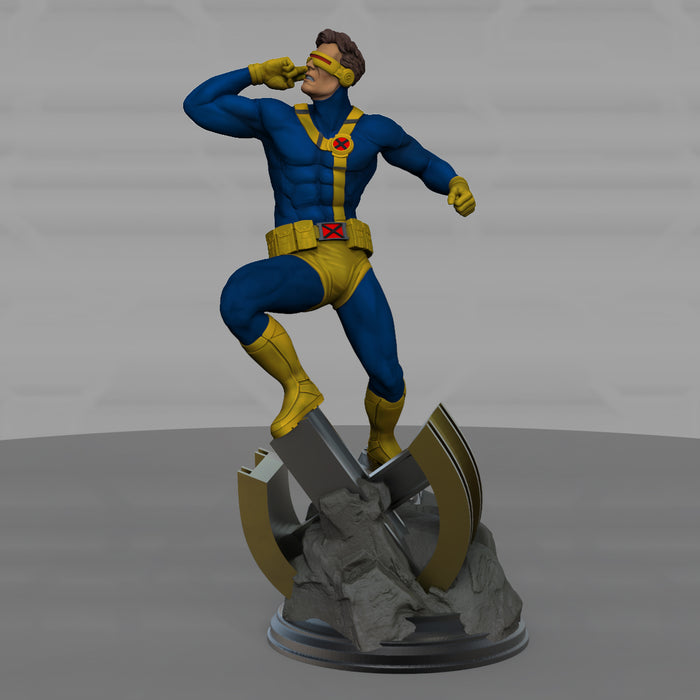 X-Men Diorama Cyclops