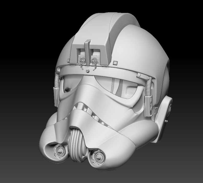 StormTrooper Play Arts Kai Helmet