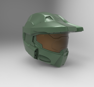 Halo Infinite Master Chief Helmet STL