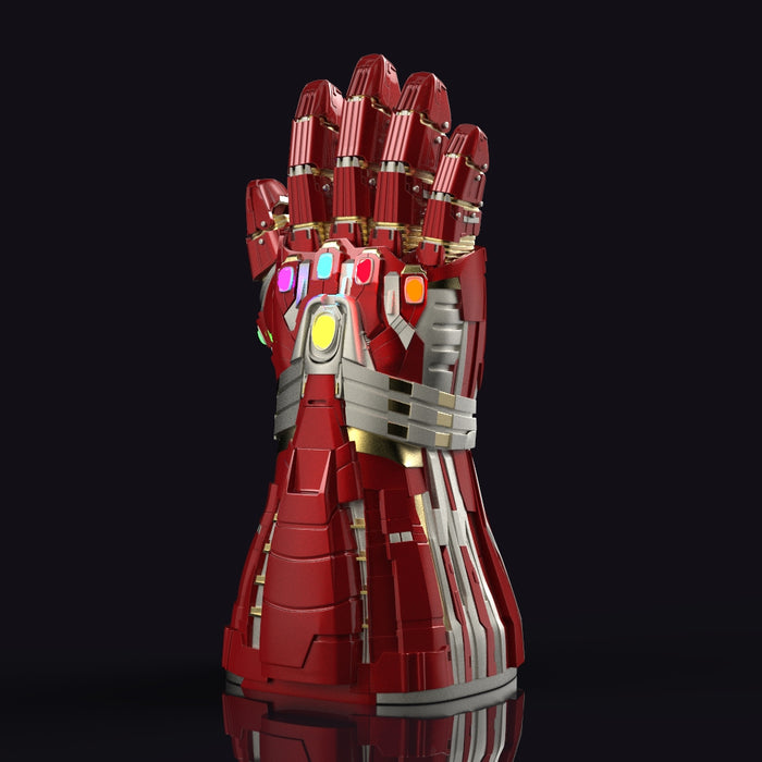IronMan Infinity Gauntlet stl Hulk Version
