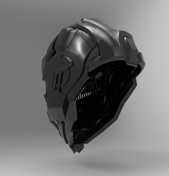 Altered Carbon Helmet STL - Nikko Industries