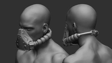 Darth Malgus Breathing Mask stl - Nikko Industries