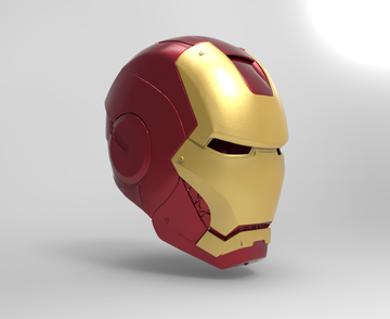 Iron Man MK3 with Battle Damage and Tech Chest
