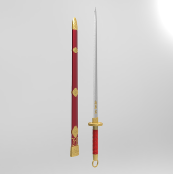 Mulan Live Action Movie Sword