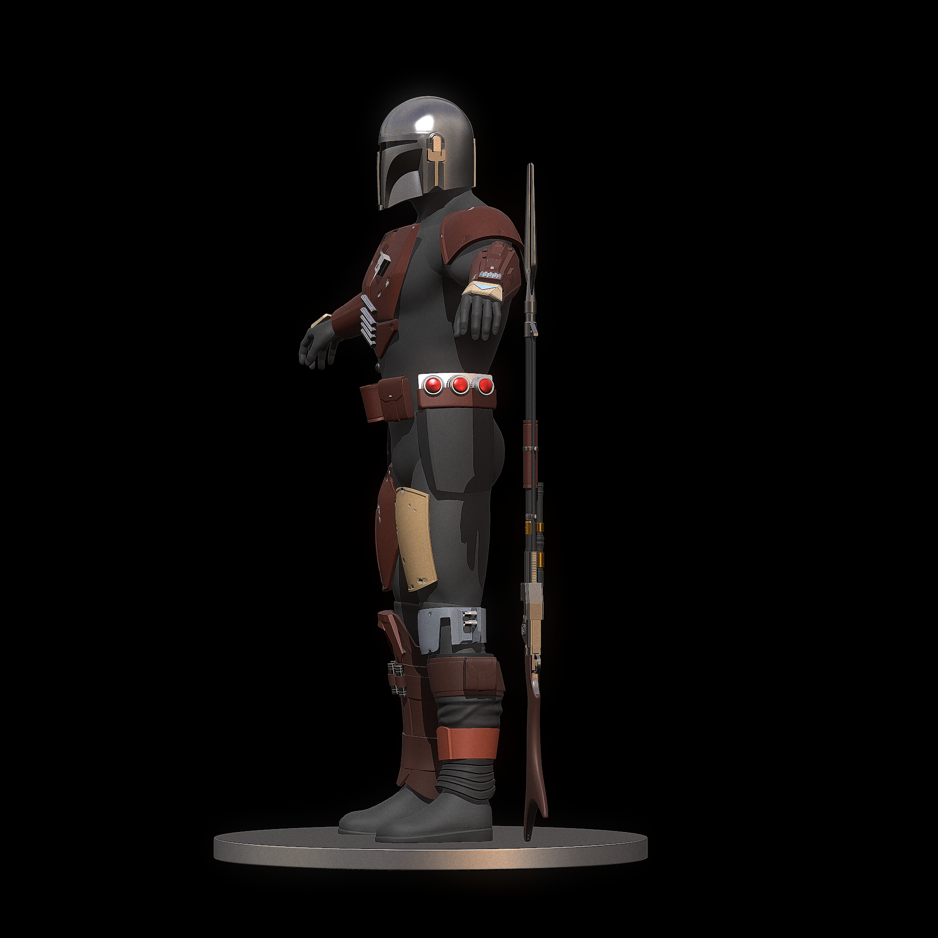 The Mandalorian Armor stl