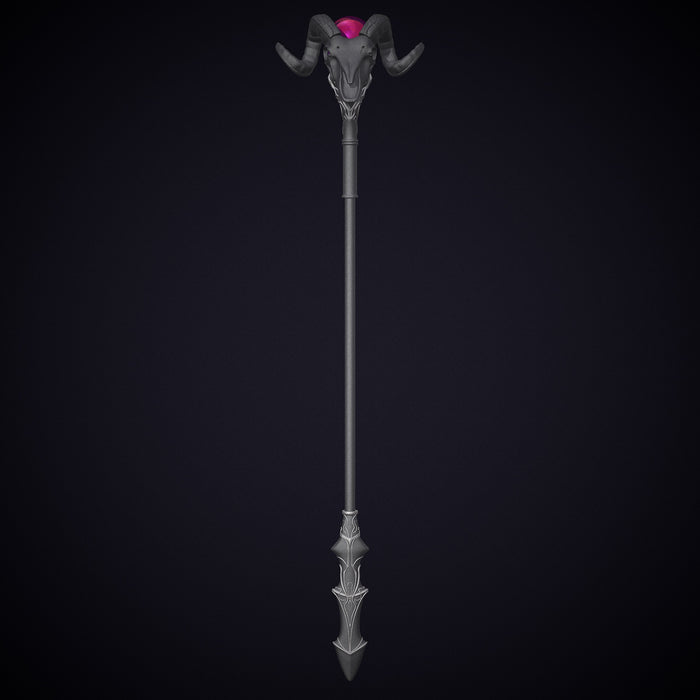 Skeletor Battle Staff stl