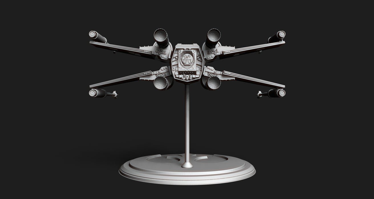 X-Wing Display STL