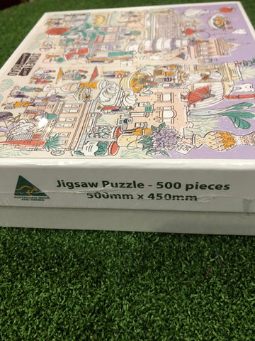 Jigsaw 500 piece - Our very own Sydney Road Brunswick