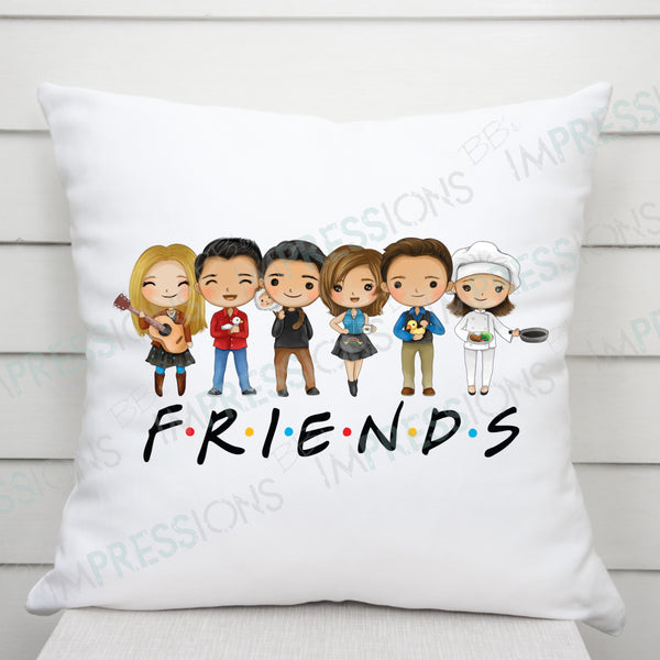 FRIENDS Cartoon Characters