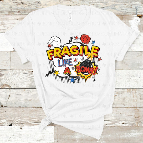 Fragile Like a Bomb - Red