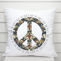 Keep the Peace - Aztec Peace Sign