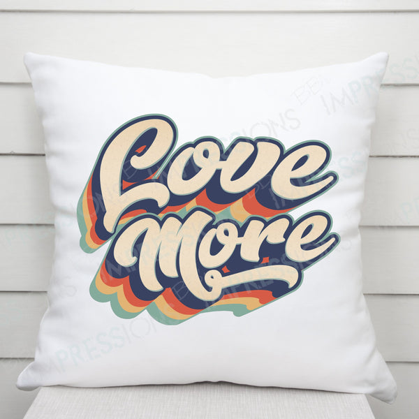 Love More - Retro