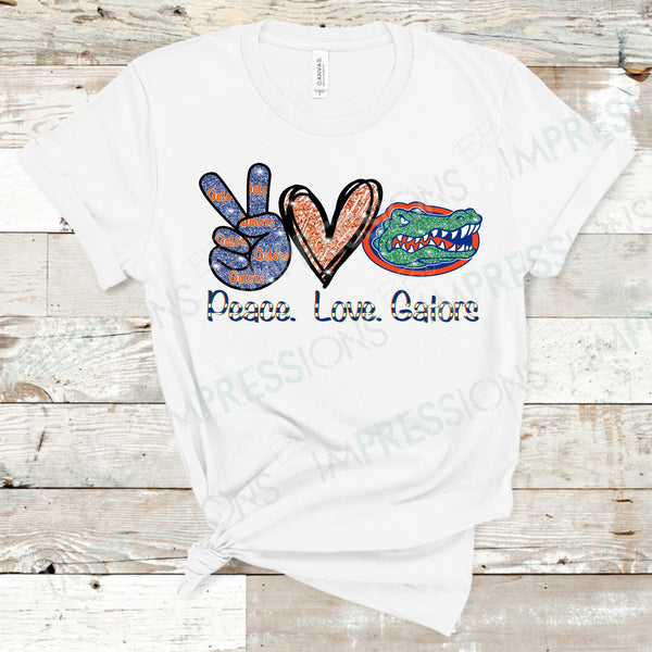 Peace Love Gators