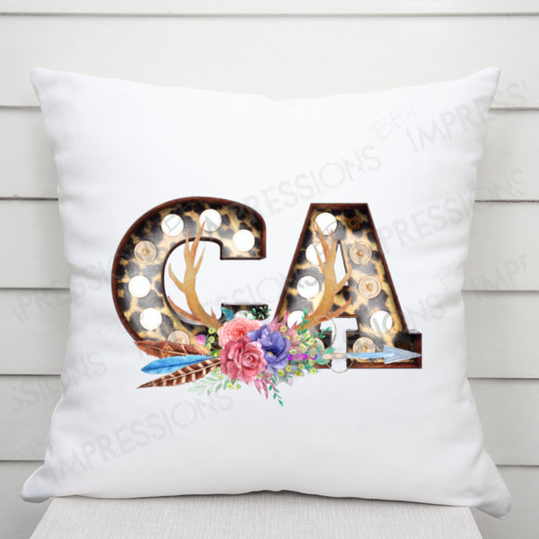 California - Floral Marquee