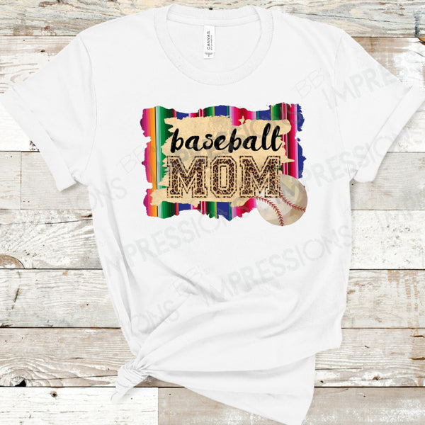 Baseball Mom - Serape