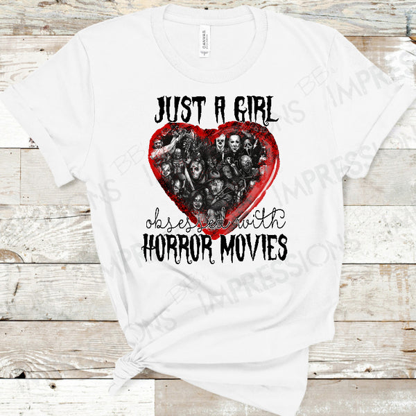 Just A Girl Obsessed With Horror Movies