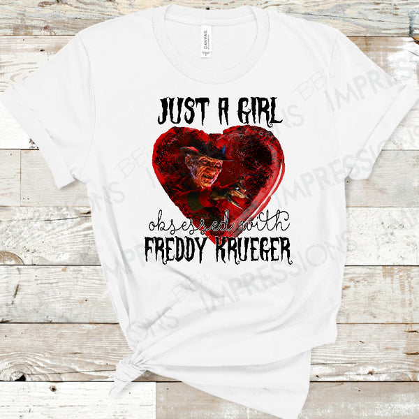 Just A Girl Obsessed With Freddy Krueger