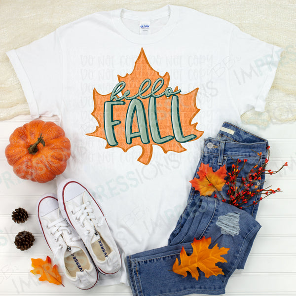 Hello Fall - Leaf