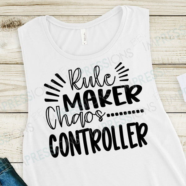 Rule Maker, Chaos Controller