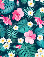 Tropical Flowers Pattern