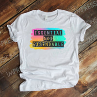 Essential Not Expendable